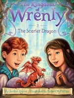 Book cover of KINGDOM OF WRENLY 02 THE SCARLET DRAGON