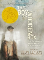 Book cover of BOY ON THE WOODEN BOX