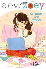 Book cover of SEW ZOEY - STITCHES & STONES