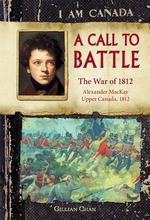 Book cover of I AM CANADA - A CALL TO BATTLE