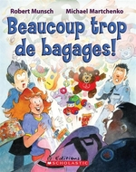 Book cover of BEAUCOUP TROP DE BAGAGES
