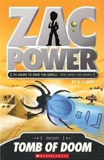 Book cover of ZAC POWER TOMB OF DOOM