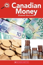 Book cover of CANADIAN MONEY - CANADA CLOSE UP