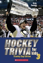 Book cover of HOCKEY TRIVIA FOR KIDS 03 STANLEY CUP ED
