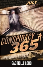 Book cover of CONSPIRACY 365 JULY