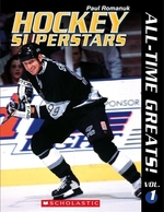 Book cover of HOCKEY SUPERSTARS ALL-TIME GREATS 01