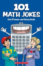 Book cover of 101 MATH JOKES