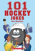 Book cover of 101 HOCKEY JOKES