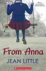 Book cover of FROM ANNA
