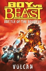 Book cover of BOY VS BEAST 08 VOLCANO