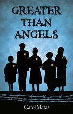 Book cover of GREATER THAN ANGELS