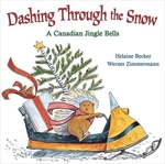 Book cover of DASHING THROUGH THE SNOW A CANADIAN JING