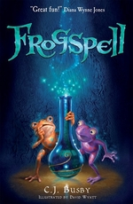 Book cover of FROGSPELL 01