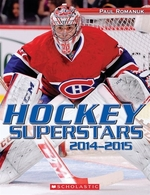Book cover of HOCKEY SUPERSTARS 2014-2015