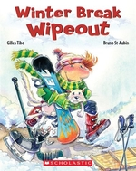 Book cover of WINTER BREAK WIPEOUT