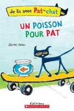 Book cover of POISSON POUR PAT JE LIS AVEC PAT LE CHAT