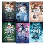 Book cover of AMULET COLLECTION BOOKS 1-6