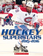 Book cover of HOCKEY SUPERSTARS 2015-2016