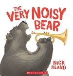 Book cover of VERY NOISY BEAR