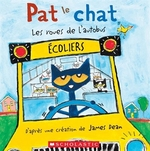 Book cover of PAT LE CHAT ROUSE DE L'AUTOBUS