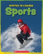 Book cover of WINTER IN CANADA - SPORTS