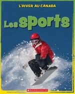 Book cover of HIVER AU CANADA LES SPORTS