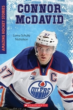 Book cover of CONNOR MCDAVID