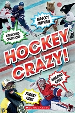 Book cover of HOCKEY CRAZY
