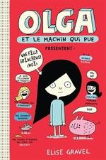 Book cover of OLGA ET LE MACHIN QUI PUE