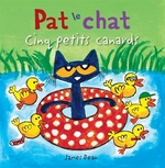 Book cover of PAT LE CHAT CINQ PETITS CANARDS