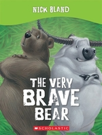 Book cover of VERY BRAVE BEAR