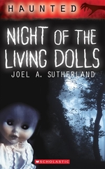 Book cover of HAUNTED - NIGHT OF THE LIVING DOLLS