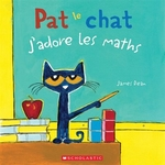 Book cover of PAT LE CHAT J'ADORE LES MATHS