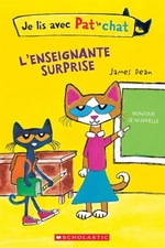 Book cover of PAT LE CHAT ENSEIGNANTE SURPRISE