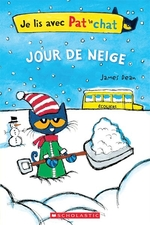 Book cover of JOUR DE NEIGE JE LIS AVEN PAT LE CHAT