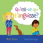 Book cover of QU'EST-CE T'ANGOISSE