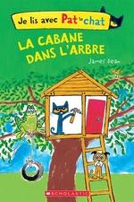 Book cover of JE LIS AVEC PAT LE CHAT CABANE DANS L'AR