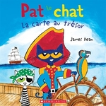 Book cover of PAT LE CHAT CARTE AU TRESOR
