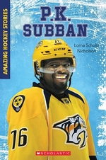 Book cover of AMAZING HOCKEY STORIES- P K SUBBAN