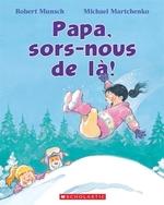 Book cover of PAPA SORS NOUS DE LA