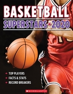 Book cover of BASKETBALL SUPERSTARS 2020