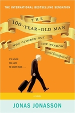 Book cover of 100-YEAR-OLD MAN WHO CLIMBED OUT THE WIN