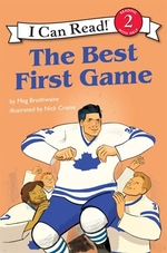 Book cover of I CAN READ HOCKEY STORIES THE BEST 1ST G