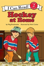 Book cover of I CAN READ HOCKEY STORIES HOCKEY AT HOME