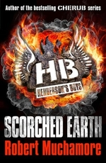Book cover of HENDERSON'S BOYS 07 SCORCHED EARTH
