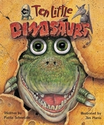Book cover of 10 LITTLE DINOSAURS