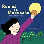 Book cover of ROUND IS A MOONCAKE