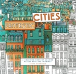 Book cover of FANTASTIC CITIES A COLORING BOOK OF AMAZ