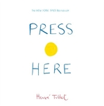 Book cover of PRESS HERE - THE BIG BOOK