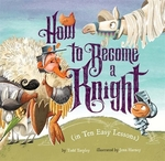 Book cover of HT BECOME A KNIGHT IN 10 EASY LESSONS